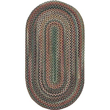 Capel Sherwood Forest Pine Area Rug; Round 9'6''