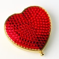 Budd Leather Heart Shape Mirror