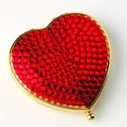 Budd Leather Heart Shape Mirror