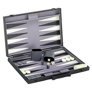 CHH Backgammon Game Set with Modern Case
