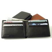 Budd Leather Men's Slim Wallet; Black