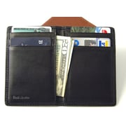Budd Leather Men's Credit Card Case; Brown