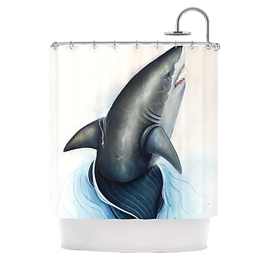 KESS InHouse Lucid Shower Curtain