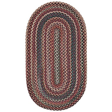 Capel Sherwood Forest Red Area Rug; Round 3'