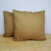 American Mills Mineral Spirits Pillow (Set of 2); Brass