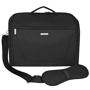 Travelon Messenger Bag; Black
