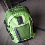 Backside Skoolit Backpack; Green