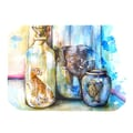 KESS InHouse Bottled Animals Placemat