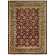 Capel Forest Park Dark Red Meshed Rug; 2' x 3'