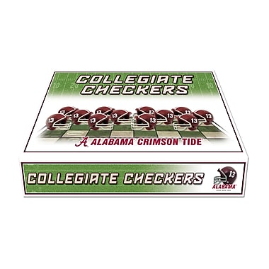 Rico Industries NCAA Checker Set; Alabama