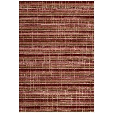 Joseph Abboud Mulholland Ruby Area Rug; 5' x 7'6''