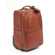 Claire Chase Expandable 21'' Pullman Suitcase; Saddle