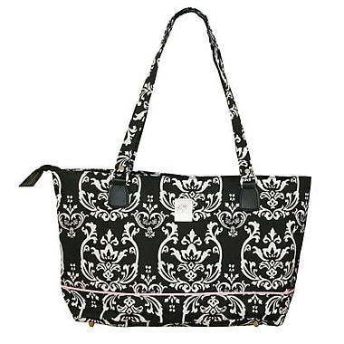 Jenni Chan Damask Laptop Tote Bag