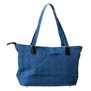Jenni Chan Blue Computer Tote Bag