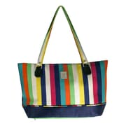 Jenni Chan Multi Stripes Computer Tote Bag