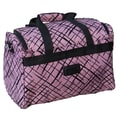 Jenni Chan Brush Strokes 18'' City Travel Duffel; Red