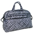 Jenni Chan Brush Strokes 20'' Gym Duffel; Blue