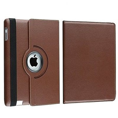 Bargain Tablet Parts Ipad 2 and Ipad 3 Rotating Case; Brown