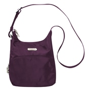 Travelon Anti-Theft Messenger Bag; Purple