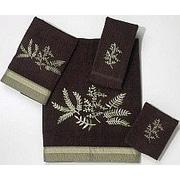 Avanti Linens Greenwood 4 Piece Towel Set; Java