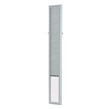 Zabitat Cordless Add on Enclosed Door Venetian Blind; 9'' W x 66 '' L x 1.5'' D