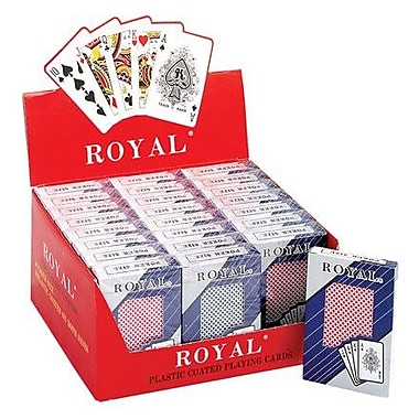 CHH Pinochle Playing Cards (Set of 24); Big Number Plastic Cards