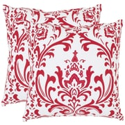 Safavieh Belos Cotton Decorative Cotton Throw Pillow (Set of 2); 22''