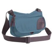 Overland Equipment Pixley Shoulder Bag; Denim / Tan Cross Hatch