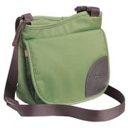 Overland Equipment Isabella Shoulder Bag; Moss / Tan Cross Hatch