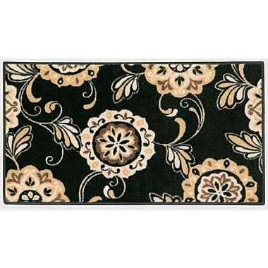 Brumlow Mills Pippin Black Area Rug; 1'8'' x 2'10''