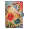 Anuschka E-Reader Cover; Premium Hibiscus Antique