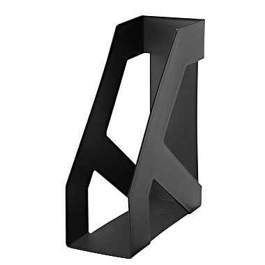 Iris Large Magazine Holder, Black