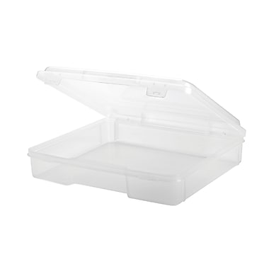 Iris 8.5x11 Deep Portable Project Case, Clear