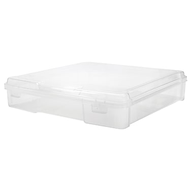 Iris 12x12 Scrapbook Case, Clear