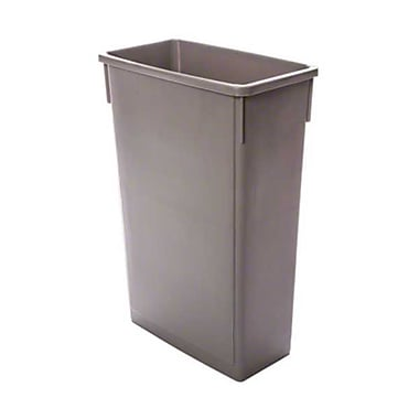 Thunder Group PLTC023G, 23 Gal Plastic Trash Can, Gray