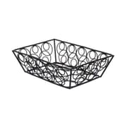 American Metalcraft EBB59B Iron Loop-D-Loop Basket, Black