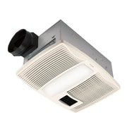 Broan 110 CFM Energy Star Bathroom Fan with Heater and Light