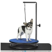 Master Equipment Petedge Small Dog Grooming Table; Blue