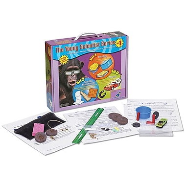 The Young Scientists Club Set 1: Recycling, Scientific Measurements, & Magnets Science Kit