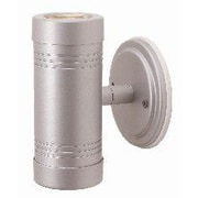 Access Lighting Myra 2 Light Outdoor Sconce; Silver