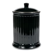 Omniware Simsbury Extra Large Canister; Black