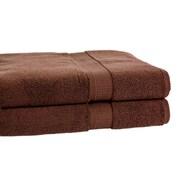 Calcot Ltd. Growers Bath Towel (Set of 2); Espresso