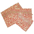 Amy Butler Safia Lingerie Envelopes in Sari Flowers Tomato; Large