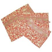 Amy Butler Safia Lingerie Envelopes in Sari Flowers Tomato; Large