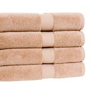 Calcot Ltd. Growers Bath Towel (Set of 4); Latte