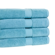 Calcot Ltd. Growers Bath Towel (Set of 4); Teal