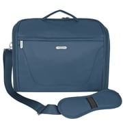 Travelon Messenger Bag; Steel Blue