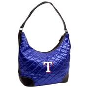 Little Earth MLB Quilted Hobo Bag; Texas Rangers