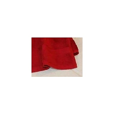 Calcot Ltd. All American Cotton Line 3 Piece Towel Set; Pomegranate