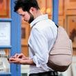 AmeriBag Hemp Healthy Back Bag  Sling; Natural